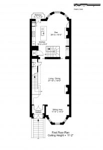 FIRST FLOOR PLAN (CLICK TO VIEW LARGER)