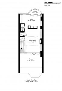 FOURTH FLOOR PLAN (CLICK TO VIEW LARGER)