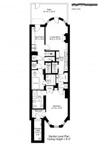 GARDEN LEVEL FLOOR PLAN (CLICK TO VIEW LARGER)
